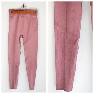 Fabletics Dusty Rose Pink Athletic Leggings SZ L